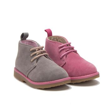 Toddler Girls I-502 Suede Ankle High Desert Chukka Boots