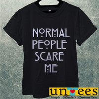 Normal People Scare Me American Horror Story Men T Shirt