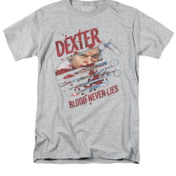 DEXTER/BLOOD NEVER LIES