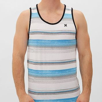 Hurley Black & Blue Tank Top