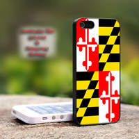 Maryland Flag - iPhone 4 4S iPhone 5 5S 5C.