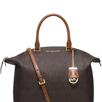 Michael Michael Kors Riley Signature Large Satchel