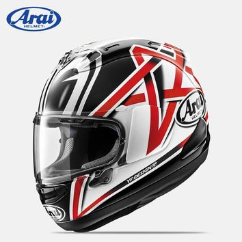 JAPAN Original ARAI RX7 Nakano Motorcycle RX-7X EU/ CORSAIR-X Full Face Moto GP Racer Helmet 2018 SNELL Approval Limited Edition