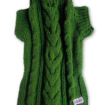 Pine Hand-knitted Jumper