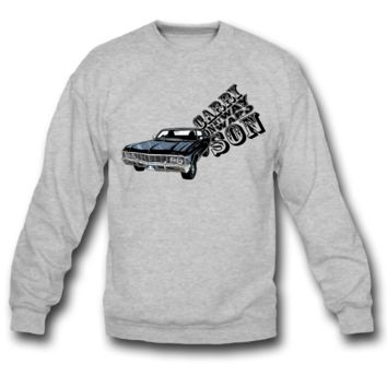 CARRY ON MY WAY SON WAR SWEATSHIRT CREWNECKS