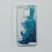 The LIQUID GLITTER Case - BLUE - Samsung Galaxy S5