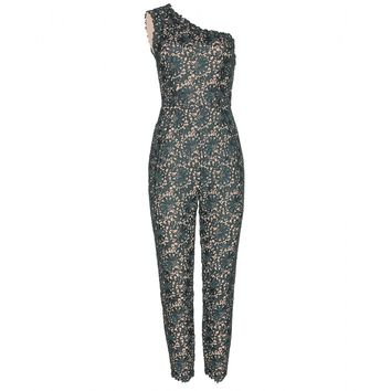 stella mccartney - lace-macramé jumpsuit