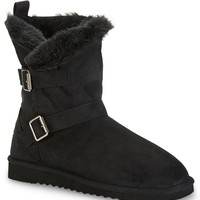 Slouchy Buckle Boot