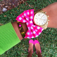 "The ""Check Me Out"" Bow Bracelet"