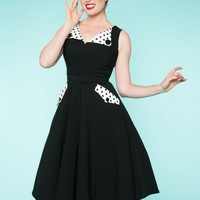 Brigit Dress in Black