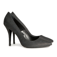 Leather Pumps - from H&M