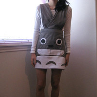 Last one made to order Totoro suspender skirt Small