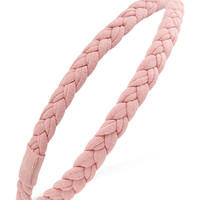FOREVER 21 Stretch Knit Braided Headband