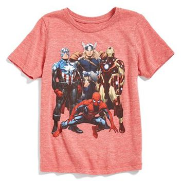 Boy's Mighty Fine 'Avengers Together' T-Shirt