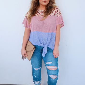 Curvy: Going Anywhere Top: Multi