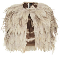 Feather Mix Cape - New In This Week  - New In