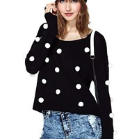 Nasty Gal Pom Bomb Sweater
