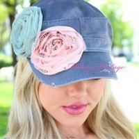 Double Trouble Rosette Hat