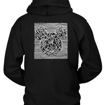 Joy Division Mickey Mouse Hoodie Two Sided