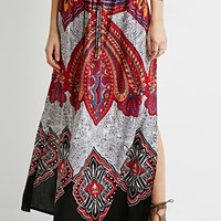 Ornate Paisley Maxi Skirt