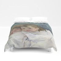Celebrating Mary Cassat and her sisters Duvet Cover by anipani