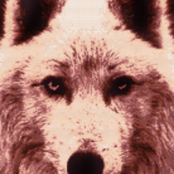 Game of Thrones Ghost the Dire Wolf Cross Stitch Pattern