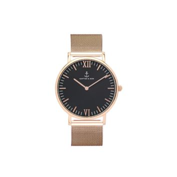 "Campina ""Black Mesh"" - Campina Black - Watches"