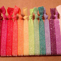 Sprinkles Collection Set of 13 Softies hair ties by Opus 19