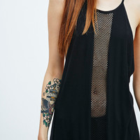 Sparkle & Fade T-Back Mesh Cami - Urban Outfitters