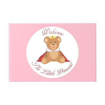Welcome The Little Princess Guest Book