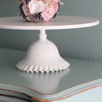 16 Cake Stand / Wedding Cake Stand Pedestal / by TheRocheStudio