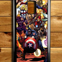 Superhero Art Marvel Samsung Galaxy Note 4 Case