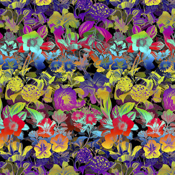 LSD Floral Removable Wallpaper