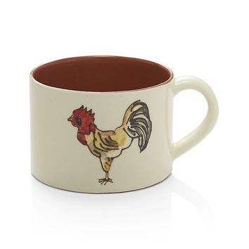 Handpainted Soup Mug