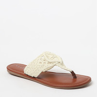 PacSun Macramé Sandals at PacSun.com