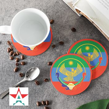 Dagestan Round Coasters (Set of 4 coasters)