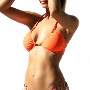 Santa Cruz Strappy Back Bikini Top