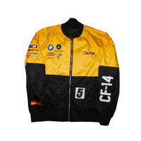 Club Foreign German Race Jacket Season 2 Black Yellow