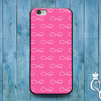iPhone 4 4s 5 5s 5c 6 6s plus iPod Touch 4th 5th 6th Generation Custom Phone Case Cute Girly Girl Love Pink Infinity Infinite Forever Cover
