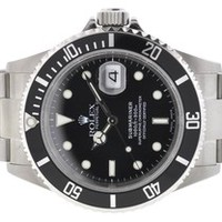 Rolex 16610 Submariner Stainless Steel Watch Papers F Serial 23% off retail