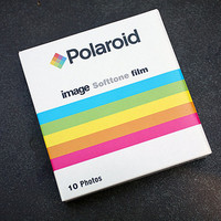 Polaroid Film for Polaroid Spectra Cameras - Polaroid SoftTone Film - Polaroid 1200 - Impossible Project Film Soft Tone Expired Tested Works