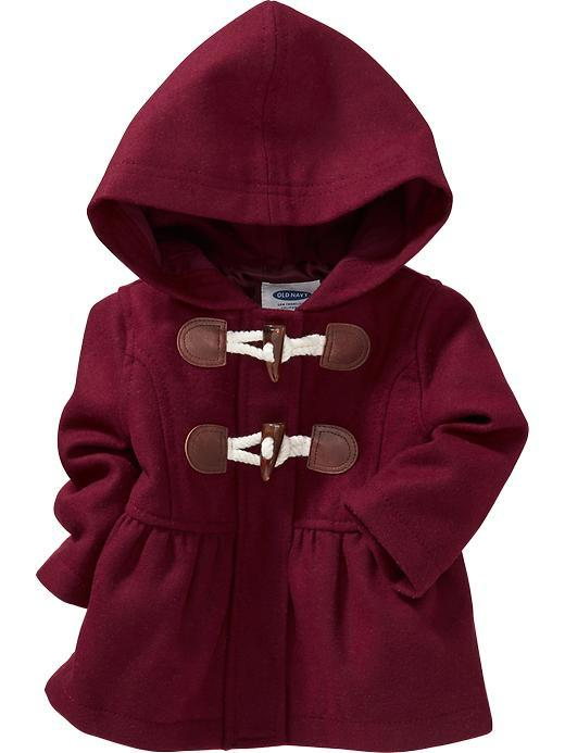 Old Navy Hooded Toggle Coat For Baby from Old Navy