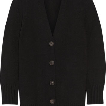 Rosetta Getty - Oversized wool and cashmere-blend cardigan
