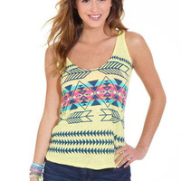 Tribal Graphic Tank