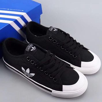 Trendsetter Adidas Nizza Women Men Fashion Casual  Low-Top Old Skool Shoes