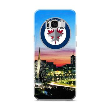 Winnipeg Jets Skyline Samsung Galaxy S8 | Galaxy S8 Plus case