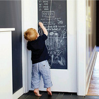 1pcs Wall Sticker Creative Chalkboard Sticker Removable Blackboard for Kids Rooms