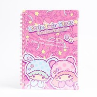 Little Twin Stars Double Ring Notebook: PJs
