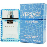 Versace Man Eau Fraiche By Gianni Versace Edt Spray 1 Oz