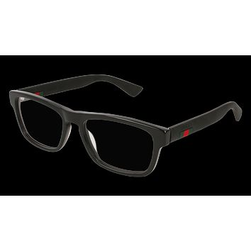 Gucci - GG0174O-005 Black Eyeglasses / Demo  Lenses